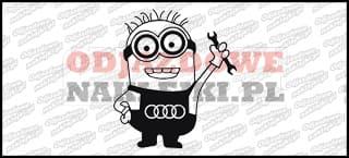 Minionek Audi 15cm