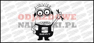 Minionek Seat 15cm