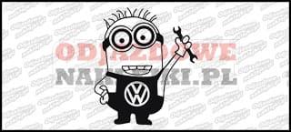 Minionek Volkswagen 15cm