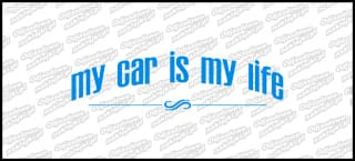 My car is my life 15cm