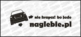 naglebie.pl Audi A4 B6 30cm biała