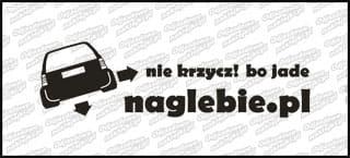 naglebie.pl Opel Astra I Kombi 20cm biała