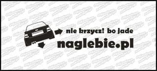naglebie.pl Audi A4 30cm biała