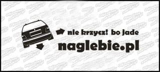naglebie.pl BMW E36 Kombi 20cm biała