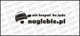 naglebie.pl Seat Ibiza Cupra II 20cm biała