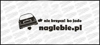naglebie.pl Opel Corsa B 20cm biała