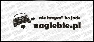 naglebie.pl Opel Omega I 20cm biała