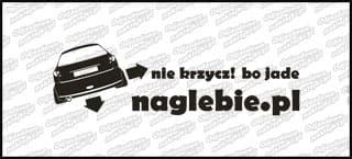 naglebie.pl Peugeot 206 30cm biała