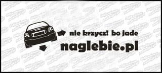 naglebie.pl Renault Megane I Coupe 20cm biała