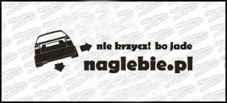 naglebie.pl Seat Ibiza I 6K 20cm biała