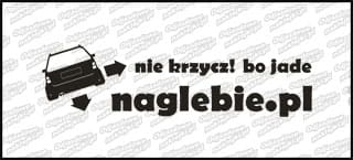 naglebie.pl VW Golf MK3 Kombi 20cm biała