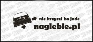 naglebie.pl VW Polo Variant 20cm biała