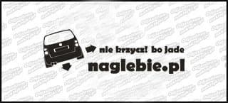 naglebie.pl VW Touran 30cm biała