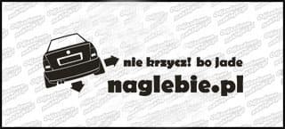 naglebie.pl VW Polo Classic 20cm biała