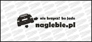 naglebie.pl Opel Astra I Cabrio 20cm biała