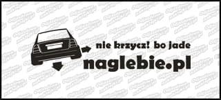 naglebie.pl Opel Astra II 30cm biała
