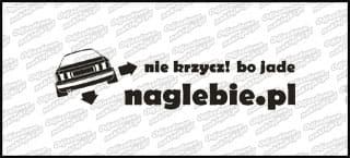 naglebie.pl Audi 80 B4 30cm biała