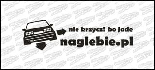 naglebie.pl BMW E30 20cm biała