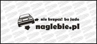 naglebie.pl Opel Calibra 20cm biała