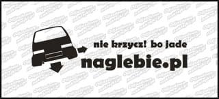 naglebie.pl Fiat Cinquecento 30cm biała