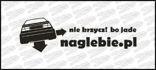 naglebie.pl VW Corrado 20cm biała