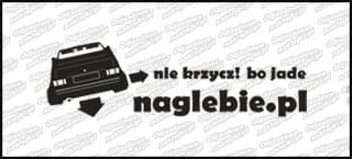 naglebie.pl VW Golf MK1 Cabrio 20cm biała