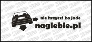 naglebie.pl VW Jetta MK2 30cm biała
