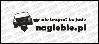 naglebie.pl VW Golf MK3 30cm biała