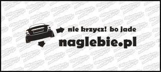 naglebie.pl Opel Vectra B sedan 30cm biała