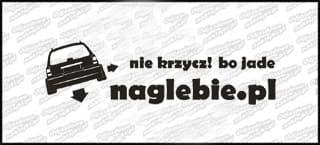 naglebie.pl Opel Vectra Kombi 20cm biała