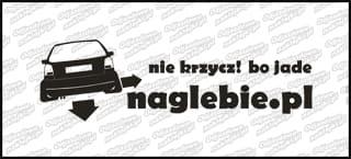 naglebie.pl VW Polo mkIII 30cm biała