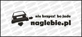naglebie.pl VW Polo MKI 20cm biała