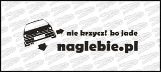 naglebie.pl Renault Clio 20cm biała