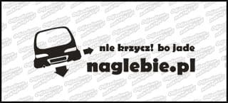 naglebie.pl Fiat Seicento 20cm biała