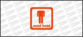 Need Head 10cm czerwona