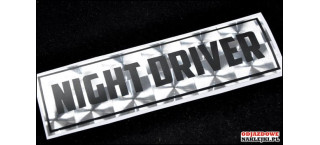 Night Driver A 19cm
