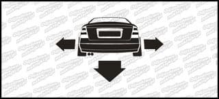 Nisko i szeroko Opel Astra G 10cm