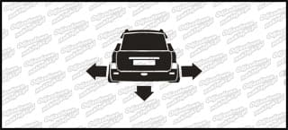 Nisko i szeroko Peugeot 206 SW 10cm