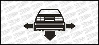Nisko i Szeroko VW Vento 10cm