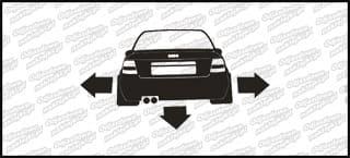 Nisko i Szeroko Audi A4 10cm