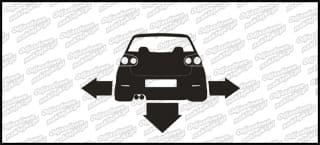 Nisko i Szeroko VW Golf MK5 10cm