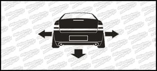 Nisko i szeroko Opel Vectra C 10cm