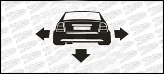 Nisko i Szeroko Opel Astra Coupe 10cm