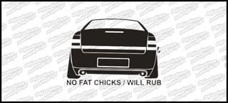 No Fat Chicks Opel Vectra C 10cm