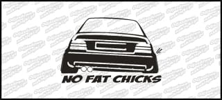 No Fat Chicks will rub BMW 15cm