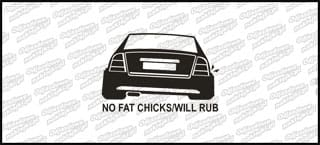 No Fat Chicks Opel Astra Coupe 10cm