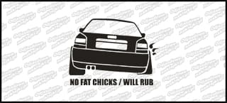 No fat chicks will rub A3a 10cm