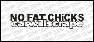 No Fat Will Scrape 15cm