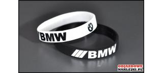 Opaska silikonowa BMW biała