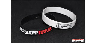 Opaska silikonowa Eat Sleep Drive
